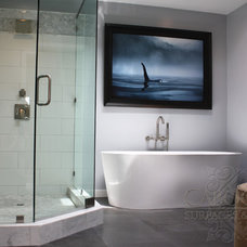 Contemporary Bathroom by Cabochon Surfaces & Fixtures