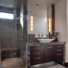 Contemporary Bathroom by Hollywood Sierra Kitchens