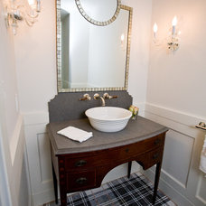 traditional bathroom by Andrea May Hunter/Gatherer