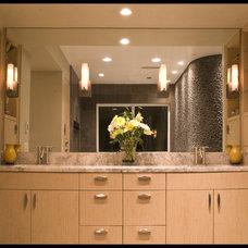 Contemporary Bathroom by VML Design & Lighting