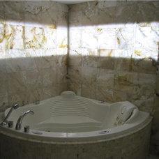 Modern Bathroom by AR Design Decor
