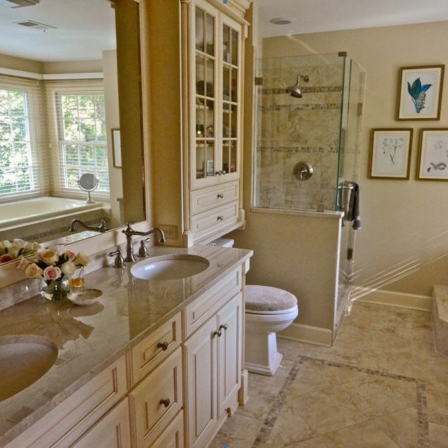 Bright And Big Master Bath In La Plata MD