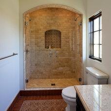 Mediterranean Bathroom by Troedsson Design and Planning