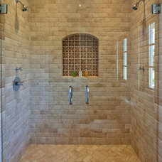 Mediterranean Bathroom by Troedsson Design and Planning
