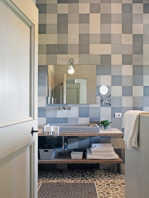 Bagno con mosaico - Foto e idee | Houzz