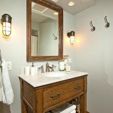 Eclectic Bathroom La Sierra #306 Remodel