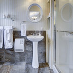 The Lakehouse Rustic Bathroom Montreal By White
