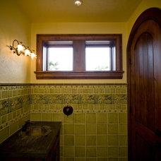 Mediterranean Bathroom Lacamus Lake