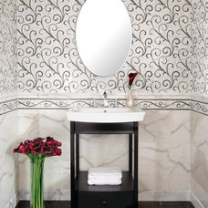 Eclectic Bathroom by AKDO
