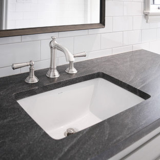 Honed Virginia Mist Granite Houzz