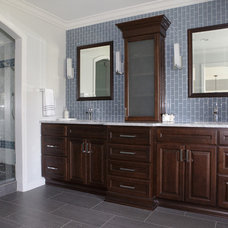 Traditional Bathroom by S.W. Scheipeter Construction