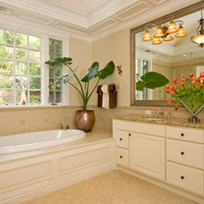 Traditional Bathroom by Nan Walz Interiors