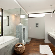 modern bathroom by Cablik Enterprises