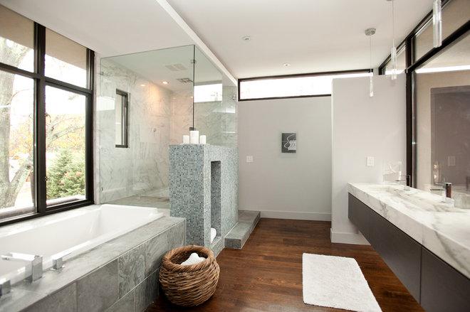 Modern Bathroom by Cablik Enterprises