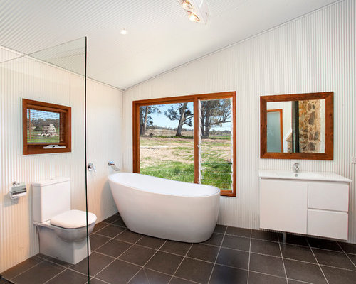 Exceptional Bathroom   Industrial Bathroom Idea In Sydney Gallery