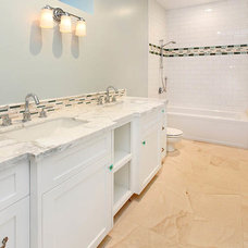 Traditional Bathroom by South Coast Woodworks