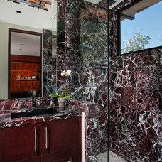 Contemporary Bathroom by GRADY-O-GRADY Construction & Development, Inc.