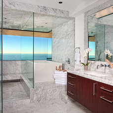 Contemporary Bathroom by GRADY-O-GRADY Construction & Development, Inc.