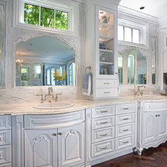 traditional bathroom by GRADY-O-GRADY Construction & Development, Inc.