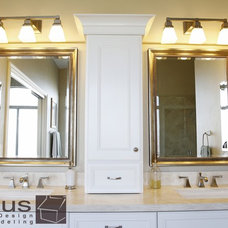 Traditional Bathroom by APlus Interior Design & Remodeling