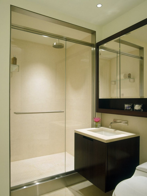modern new york bathroom design ideas remodels photos - New York Bathroom Design