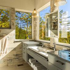 Rustic Bathroom by Integrity Windows and Doors