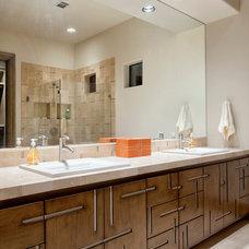 Contemporary Bathroom by JAUREGUI Architecture Interiors Construction