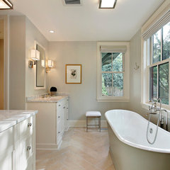 traditional bathroom by Fieldcrest Builders Inc