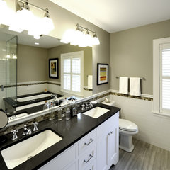 traditional bathroom by Lake Country Builders