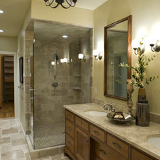 Bathroom by Lake Country Builders