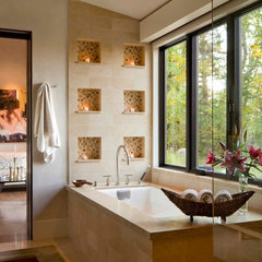 contemporary bathroom by Krueger Architecture & Design