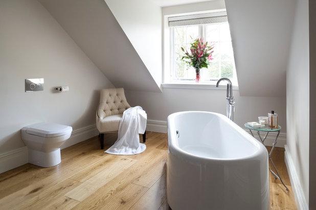 Upp till nock: 9 badrum med snedtak