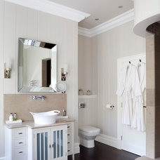 Transitional Bathroom by James Hargreaves Bathrooms