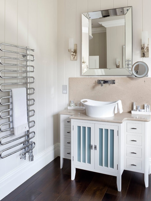 Radiator towel warmer houzz for Model bathrooms pictures