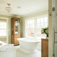 Traditional Bathroom by Ron Brenner Architects