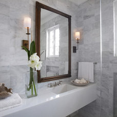 Transitional Bathroom by Michael Del Piero Good Design
