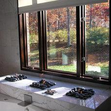 Modern Bathroom by cke interior design llc