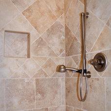 Traditional Bathroom by Sara Busby Design