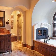 Bathtub Fireplace
