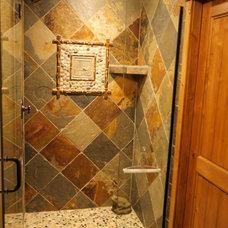 Traditional Bathroom by Molly Scott Interior Design