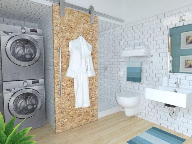 Vano Lavanderia In Bagno : Mimetismi: 10 modi ingegnosi di nascondere la lavatrice