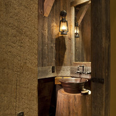 Eclectic Bathroom by Kogan Builders