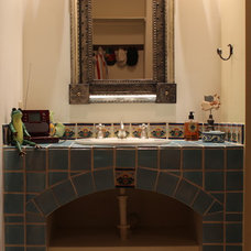 Mediterranean Bathroom by Paul Casseb