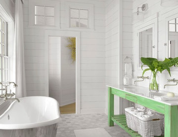 Lake House - Master Bathroom