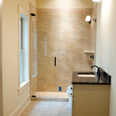 Craftsman Bathroom by McMillan Builders