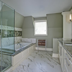 traditional bathroom by Joseph M Marchese, Architect