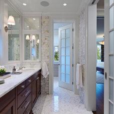 Traditional Bathroom by Stuart Cohen & Julie Hacker Architects LLC