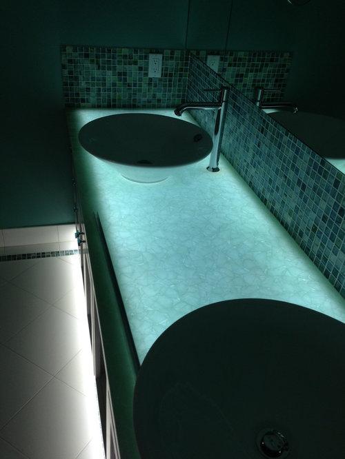 Broken Glass Countertop Design Ideas & Remodel Pictures ...