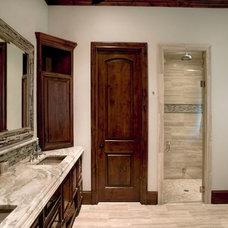 Traditional Bathroom by Durrett Homes