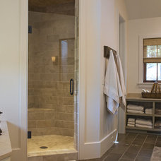Rustic Bathroom by The Berry Group